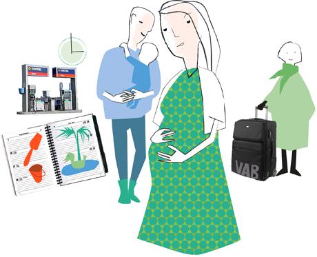 vård av sjukt barn mammaledig