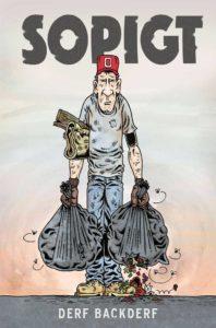 Omslag till serieboken soligt