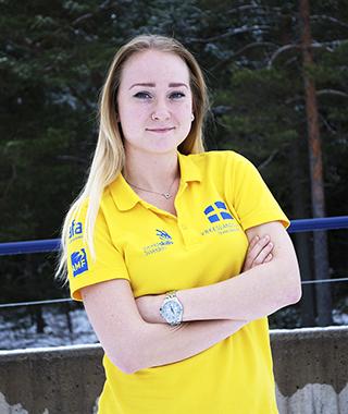 Caroline Söderqvist. Foto: Worldskills Sweden