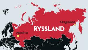 Rysslandkarta