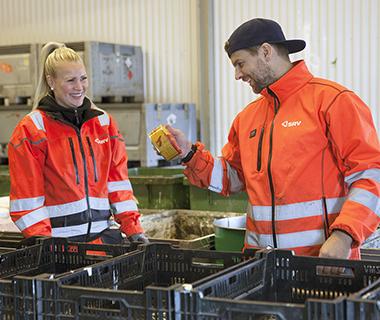 Michelle Wikström och Johan Ljungberg