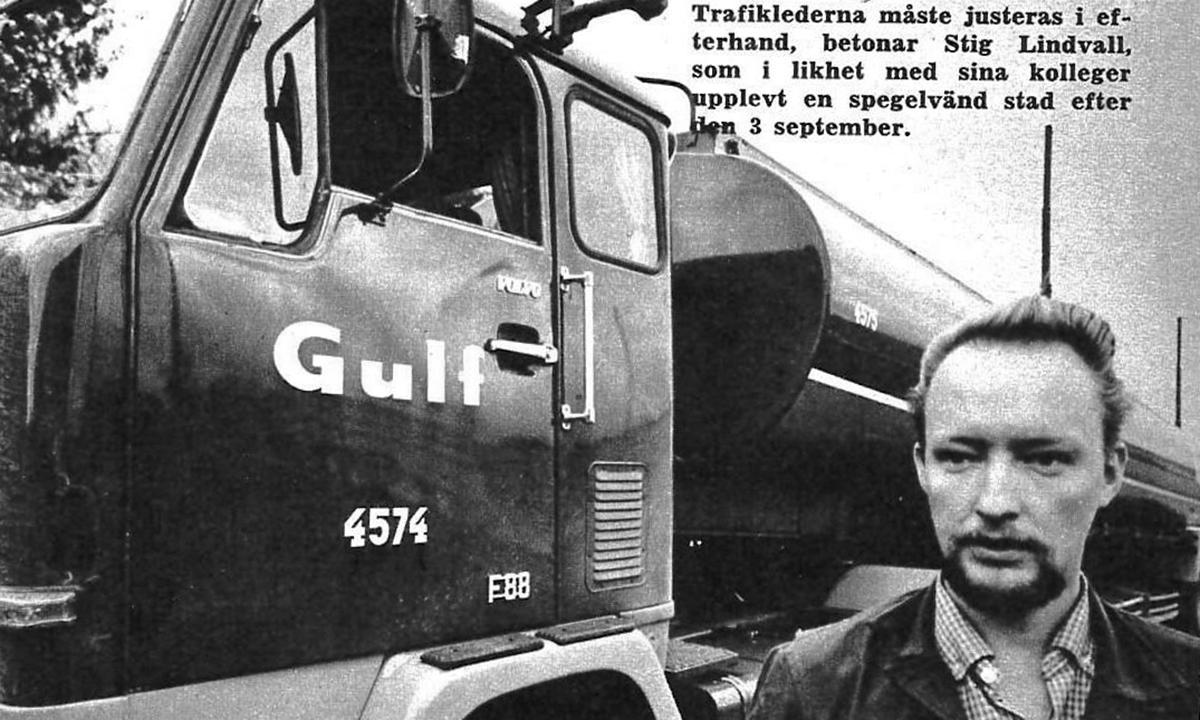 Faksimil med Stig Lindvall från 1967