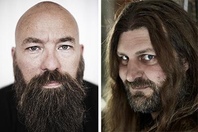 Jimmy Wilhelmsson och Orvar Säfström. Foto: Lars Jansson/Bengt Alm