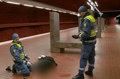 """Mathias, stillbild från tv-serien """"Tunnelbanan"""""""