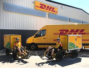 DHL Cubicycle i Malmö