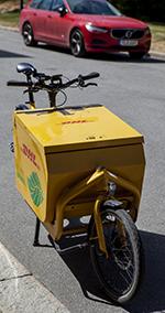 DHL elcykel