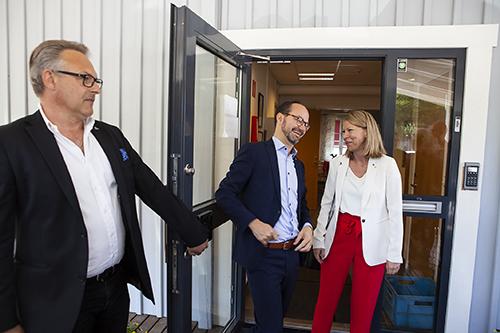 Micael Olsson, Tomas Eneroth, Sara Rudolfsson