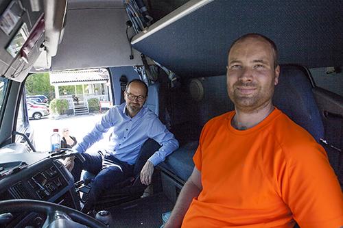Tomas Eneroth och Jens Svensson