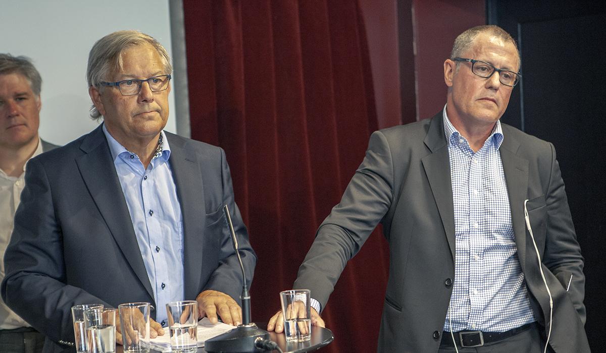 Erland Olauson, tidigare vice ordförande i LO, och Anders Weihe, förhandlingschef på Teknikföretagen, spelade den avgörande rollen när parterna kom överens om strejkrätten.