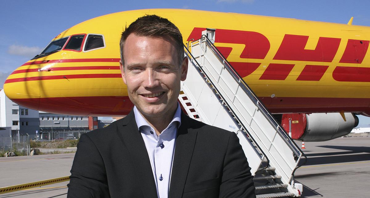 Ted Söderholm, vd DHL Express i Sverige.