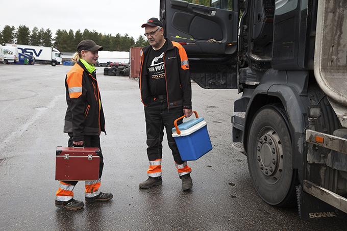 Jenny Kring och Sture Joelsson