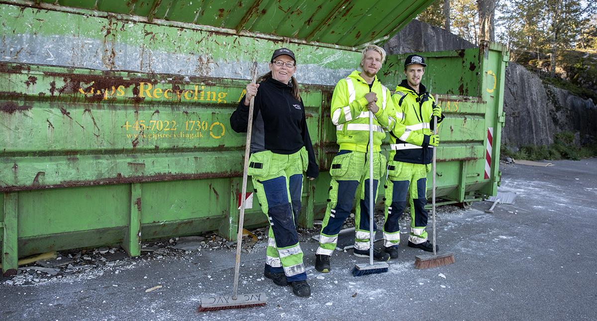 Caroline Gustafsson, William Östin och Kevin Sandström