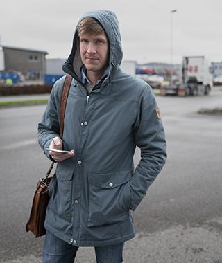 Ombudsman Martin Jonsson har lämnat över en förhandlingsframställan till Hagman Transport.