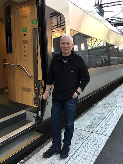 Ulf Jarnefjord på väg till COP24