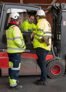 Lasse Olsson, klubbordförande, och Roger Jönsson, regionalt skyddsombud,