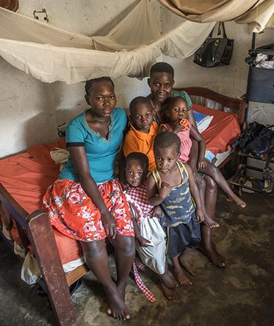 Edith Hope och hennes familj