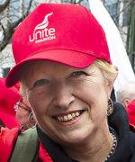 Jane Peacock, bussförare, Storbritannien