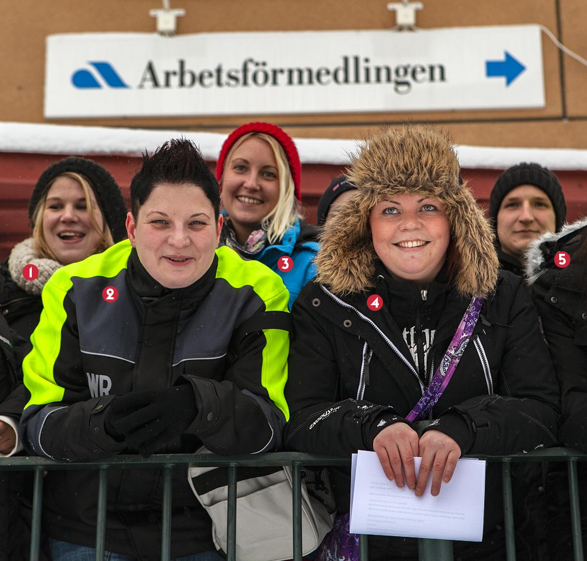 Jobbjägarna som åkte buss Gävle–Kiruna
