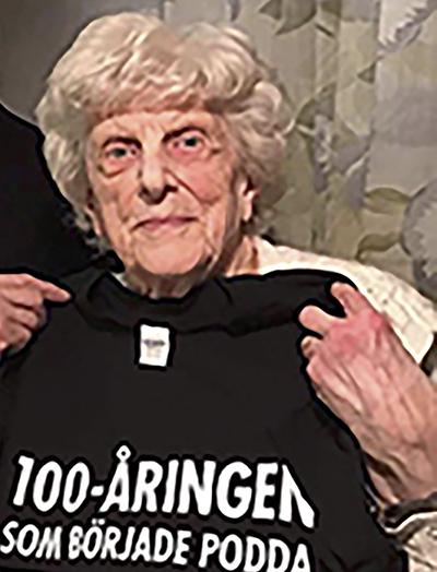 Hertha Larsson, 97 år