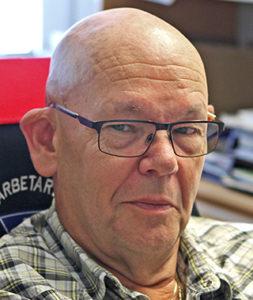 Kenneth Pettersson, ordförande i Transports Malmöavdelning och tjänstledig från Suez.
