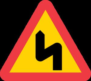 farlig kurva