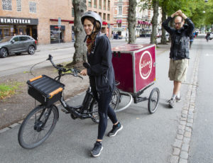 Cykelåkeriet Pling transport
