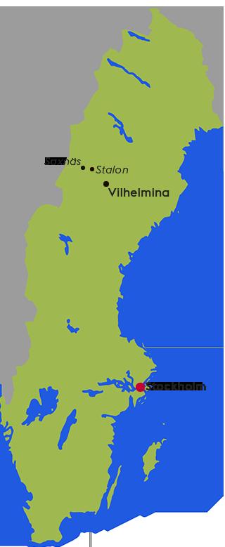 Karta Vilhelmina, Stalon, Saxnäs.