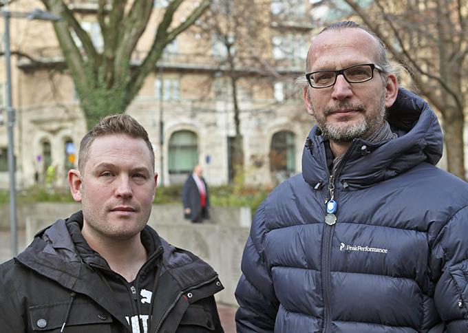 Gustaf Järsberg och Martin Miljeteig.