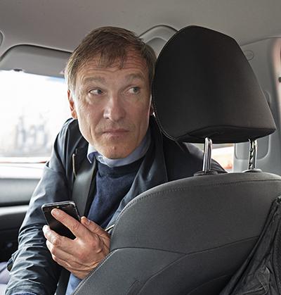 Ričardas Garuolis är generalsekreterare i det litauiska facket Solidarumas, som organiserar utlandschaufförer.