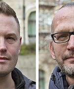 Gustaf Järsberg och Martin Miljeteig